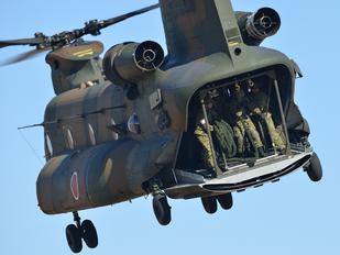 52962 - Japan - Ground Self Defense Force Kawasaki CH-47J Chinook