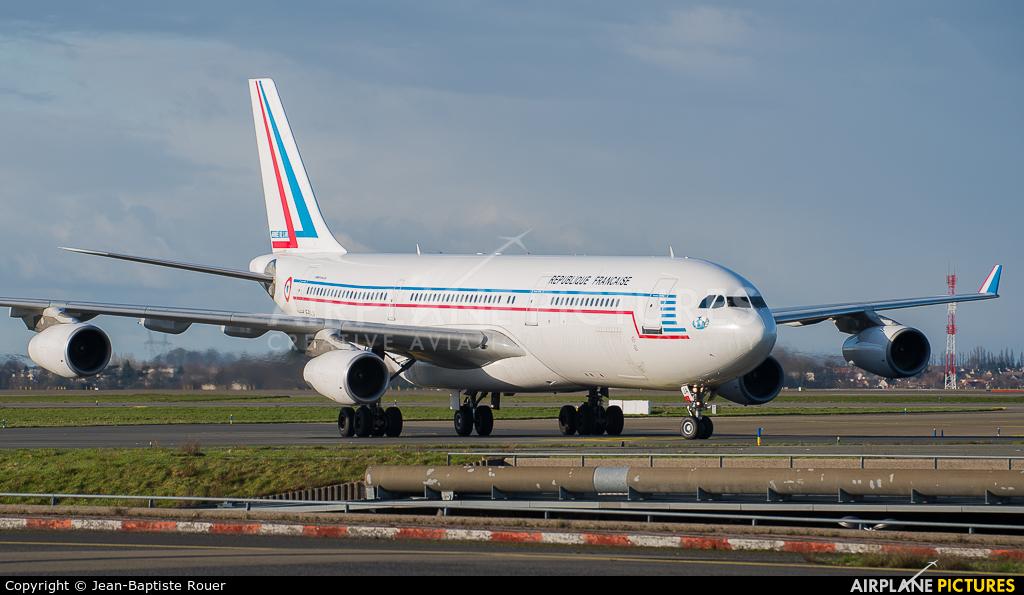 France - Air Force F-RAJA aircraft at Paris - Charles de Gaulle