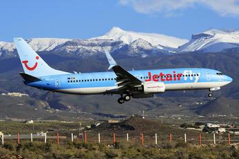 OO-JAX - Jetairfly (TUI Airlines Belgium) Boeing 737-800