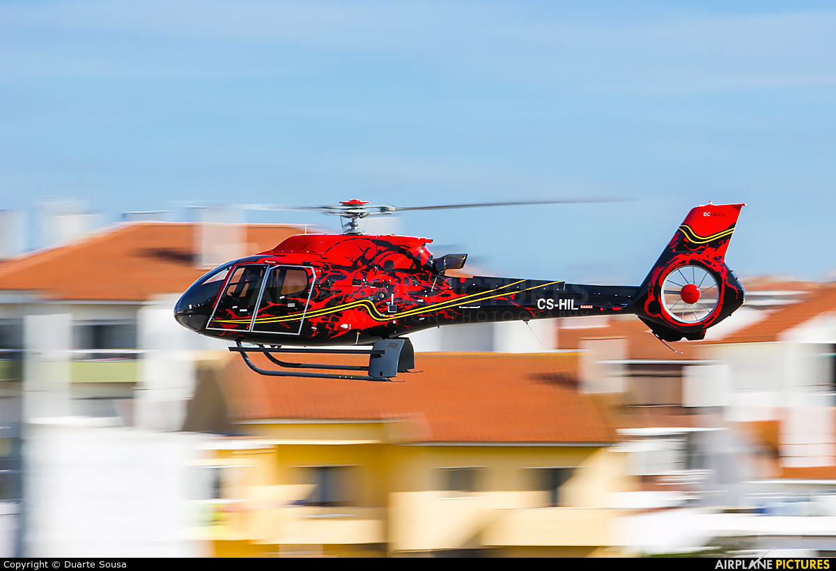 Helibravo CS-HIL aircraft at Cascais