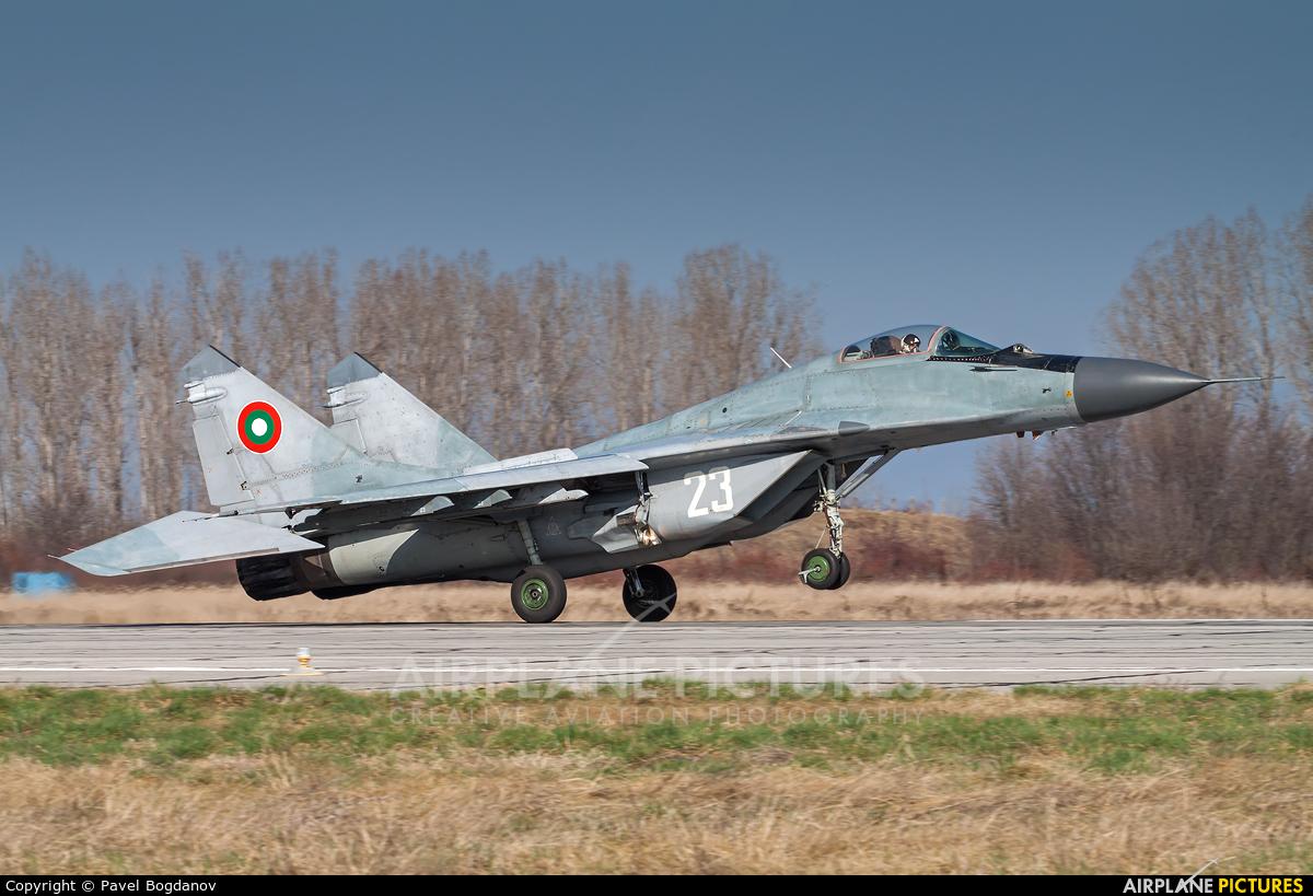 Bulgaria - Air Force 23 aircraft at Graf Ignatievo