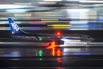 JA76AN - ANA - All Nippon Airways Boeing 737-800