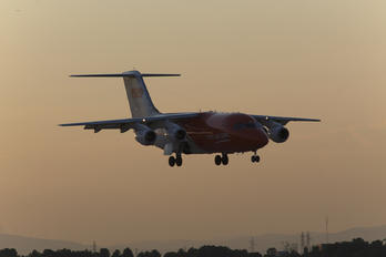 EC-FZE - TNT British Aerospace BAe 146-200/Avro RJ85-QT Quiet Trader