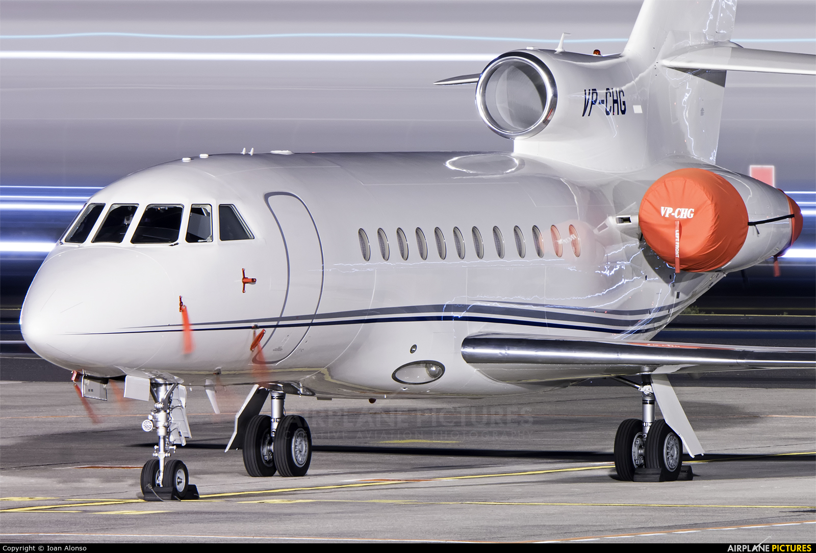 Private VP-CHG aircraft at Tenerife Sur - Reina Sofia
