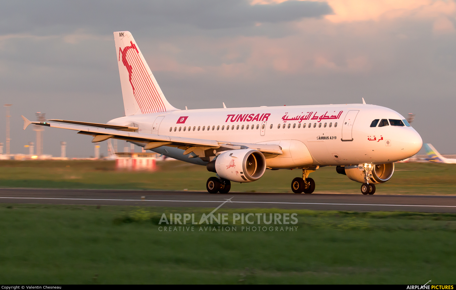 Tunisair TS-IMK aircraft at Paris - Orly