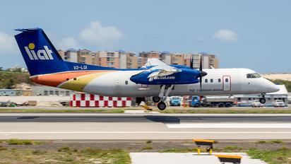 V2-LGI - LIAT de Havilland Canada DHC-8-300Q Dash 8