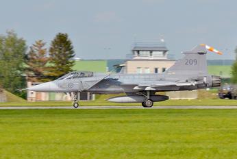 39209 - Sweden - Air Force SAAB JAS 39C Gripen