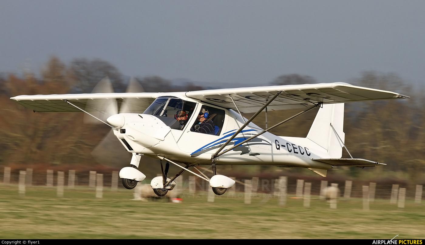 Private G-CECC aircraft at Lashenden / Headcorn