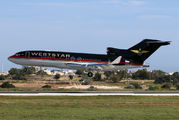 Weststar Aviation Services 727 stopping at Malta title=
