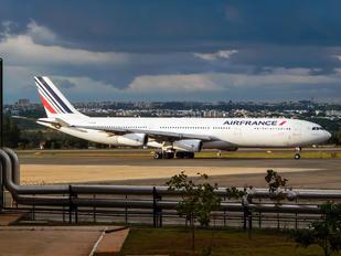 F-GZLK - Air France Airbus A340-300