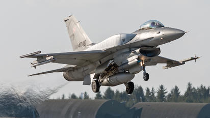 4046 - Poland - Air Force Lockheed Martin F-16C block 52+ Jastrząb