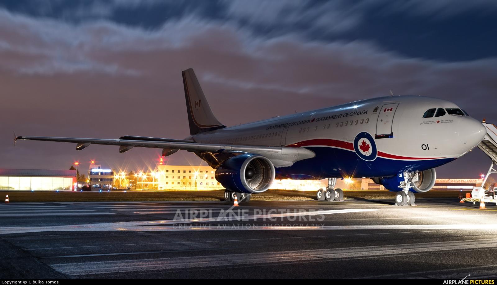 Canada - Air Force 15001 aircraft at Prague - Václav Havel