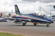 "3 - Italy - Air Force ""Frecce Tricolori"" Aermacchi MB-339-A/PAN aircraft"