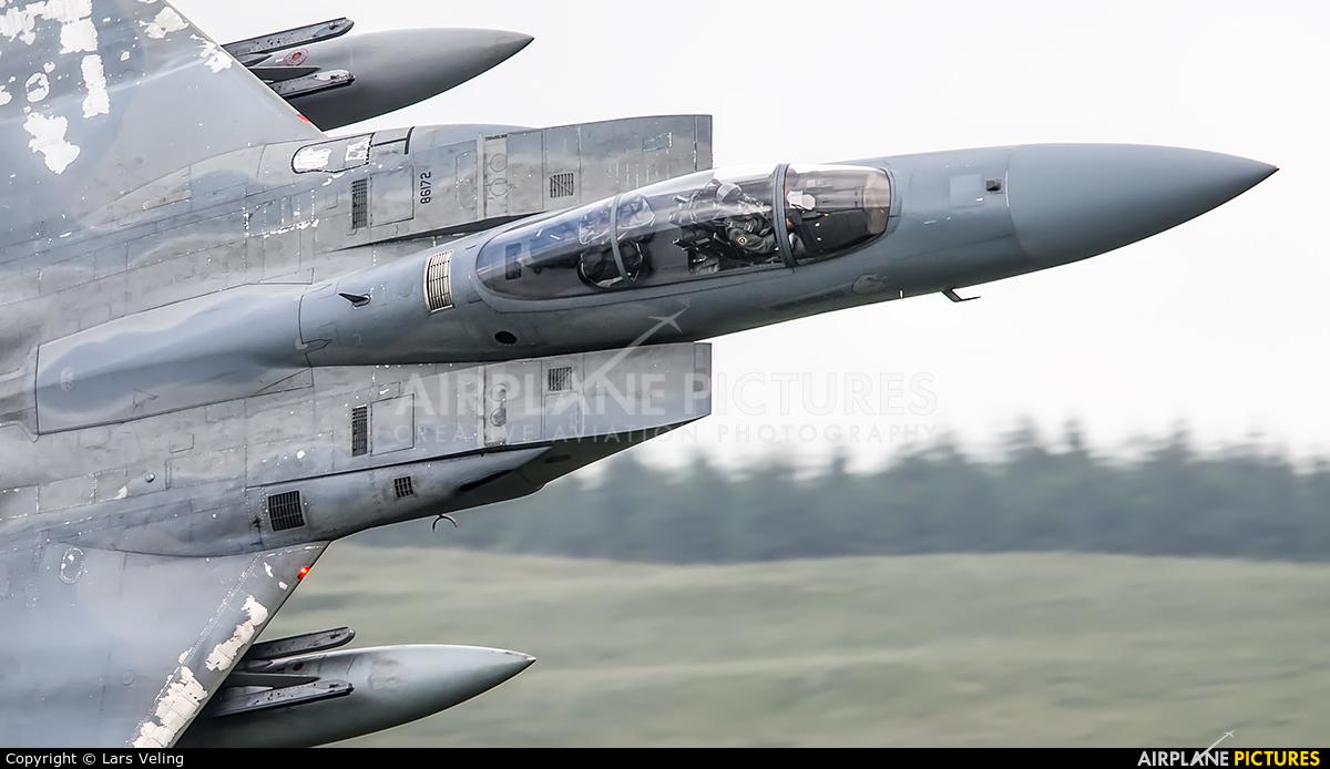 USA - Air Force 86-0172 aircraft at Machynlleth Loop - LFA 7
