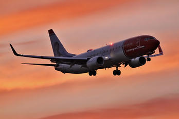 LN-NGJ - Norwegian Air Shuttle Boeing 737-800
