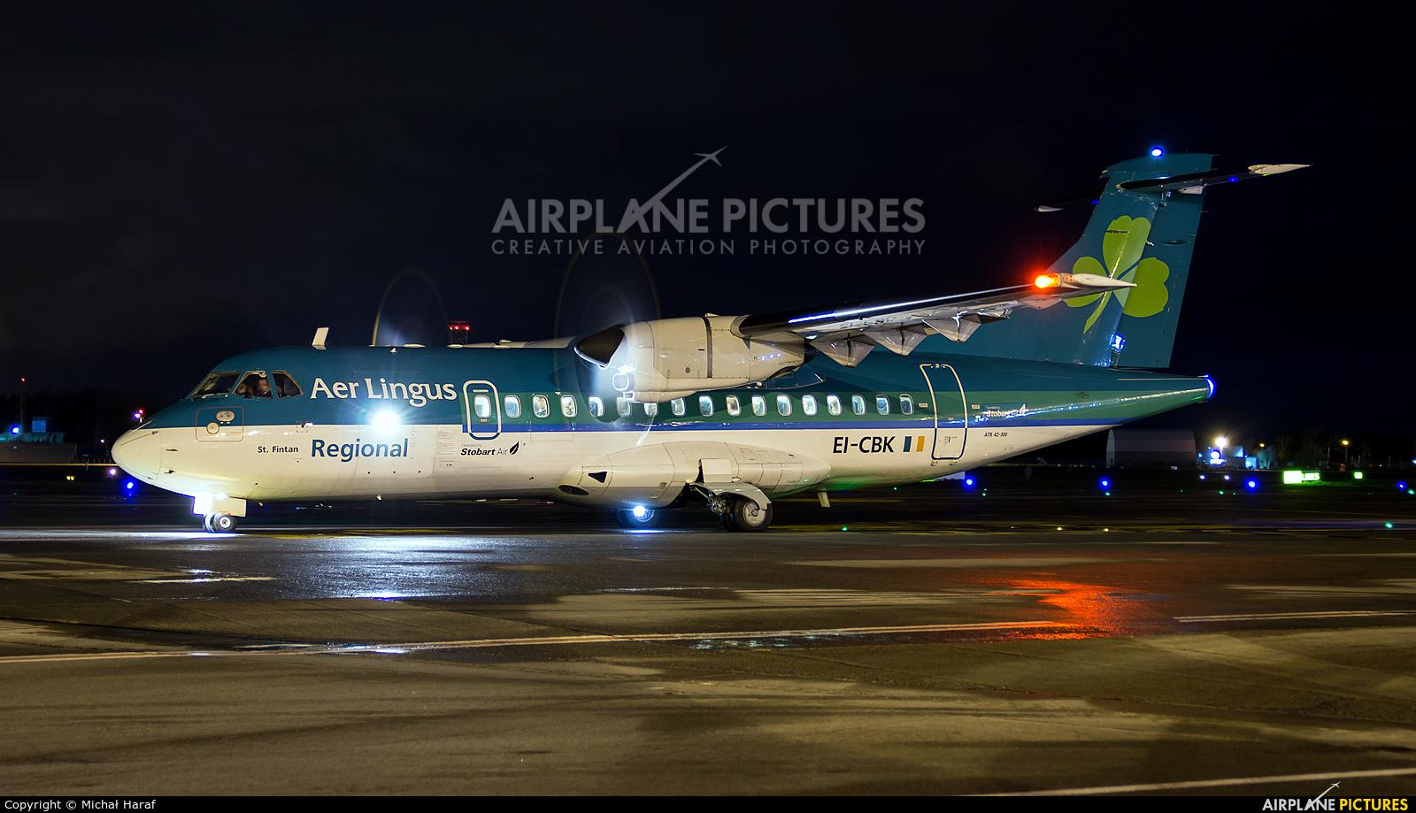 Aer Lingus Regional EI-CBK aircraft at Dublin