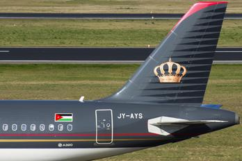 JY-AYS - Royal Jordanian Airbus A320