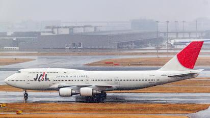 JA8084 - JAL - Japan Airlines Boeing 747-400