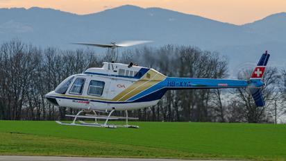 HB-XYA - Heli-Lausanne Bell 206B Jetranger