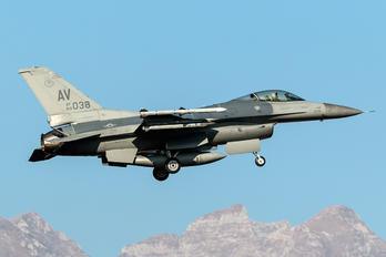 89-0038 - USA - Air Force General Dynamics F-16CG Night Falcon
