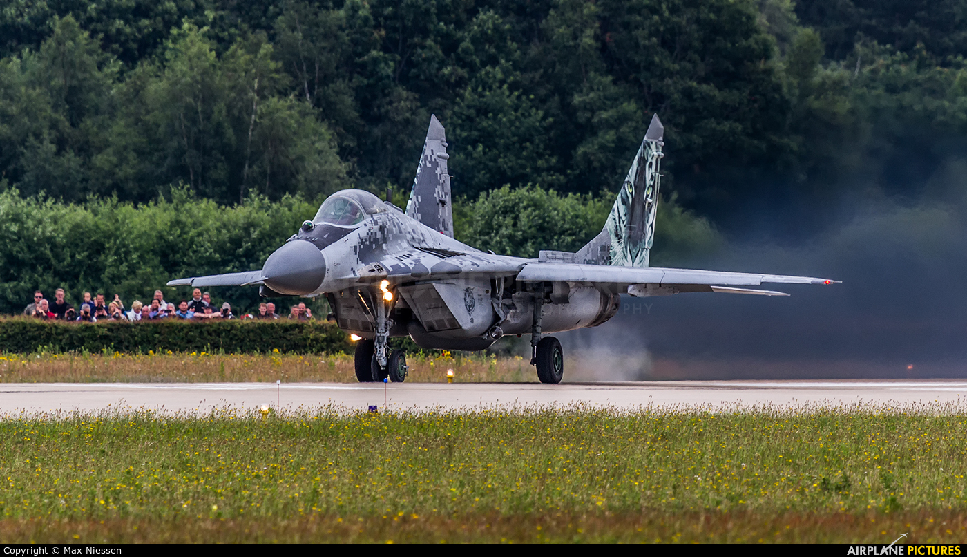 Slovakia -  Air Force 0921 aircraft at Gilze-Rijen