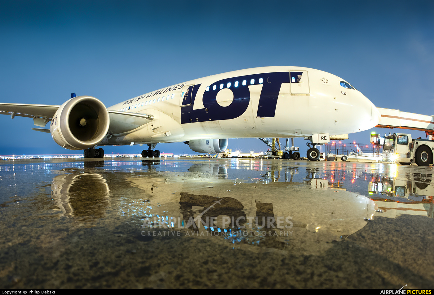 LOT - Polish Airlines SP-LRE aircraft at Toronto - Pearson Intl, ON