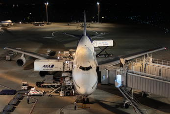 JA8966 - ANA - All Nippon Airways Boeing 747-400D