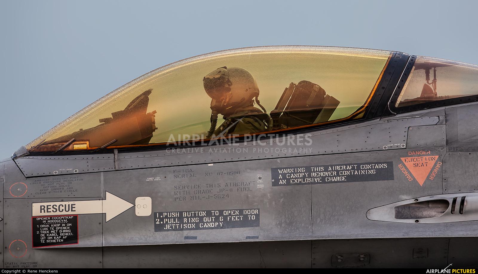 J-508 - Netherlands - Air Force General Dynamics F-16A