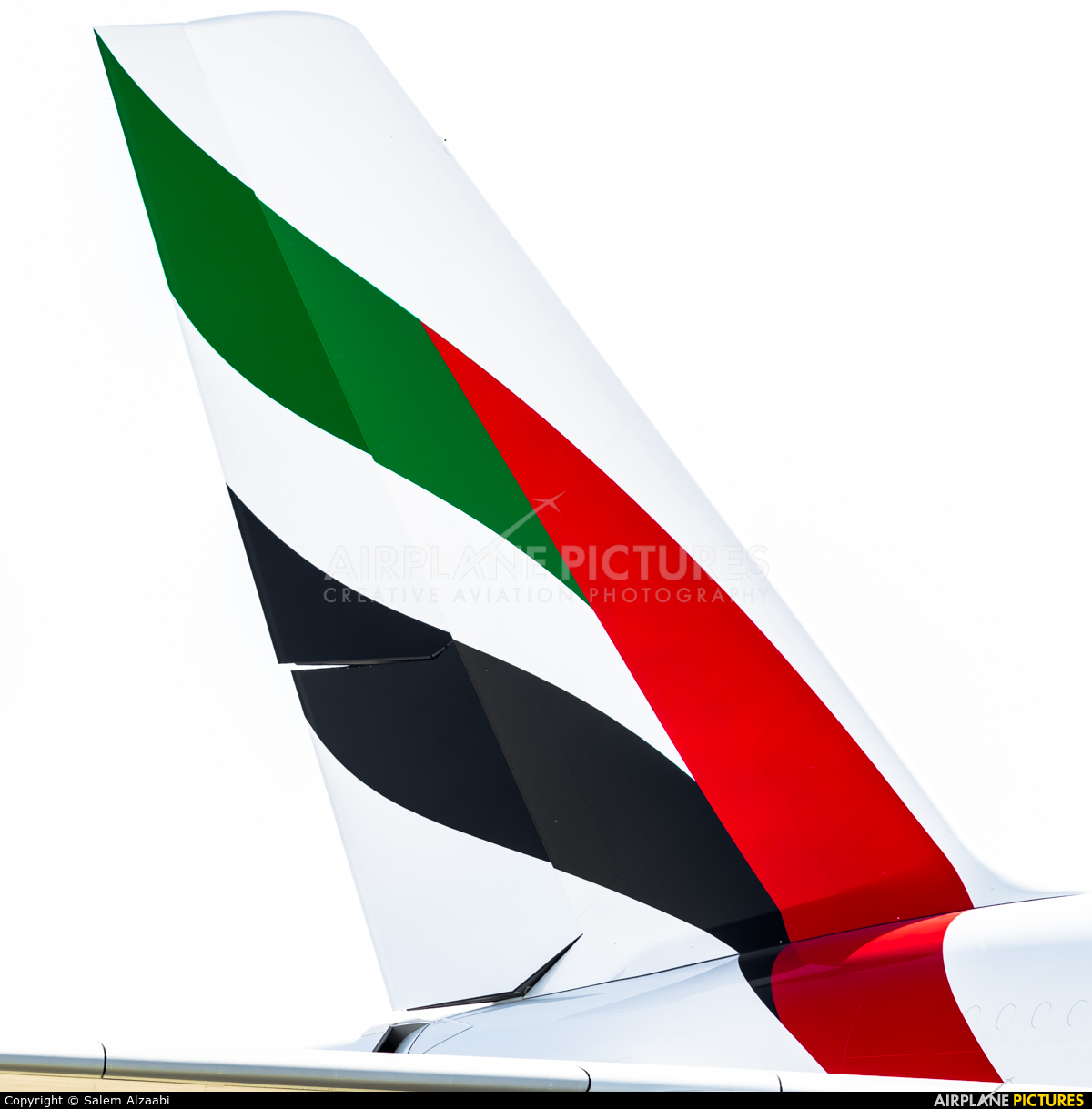Emirates Airlines A6-EOP aircraft at Jebel Ali Al Maktoum Intl