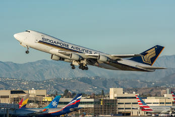 9V-SFQ - Singapore Airlines Cargo Boeing 747-400F, ERF