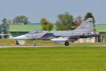 41 - Hungary - Air Force SAAB JAS 39C Gripen