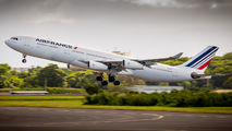 Rare visit of Air France A340-300 at Guadeloupe title=