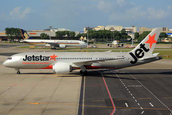 VH-VKJ - Jetstar Airways Boeing 787-8 Dreamliner
