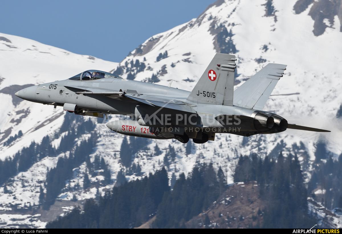 Switzerland - Air Force J-5015 aircraft at Meiringen