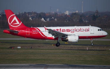 TC-ATD - Atlasglobal Airbus A319