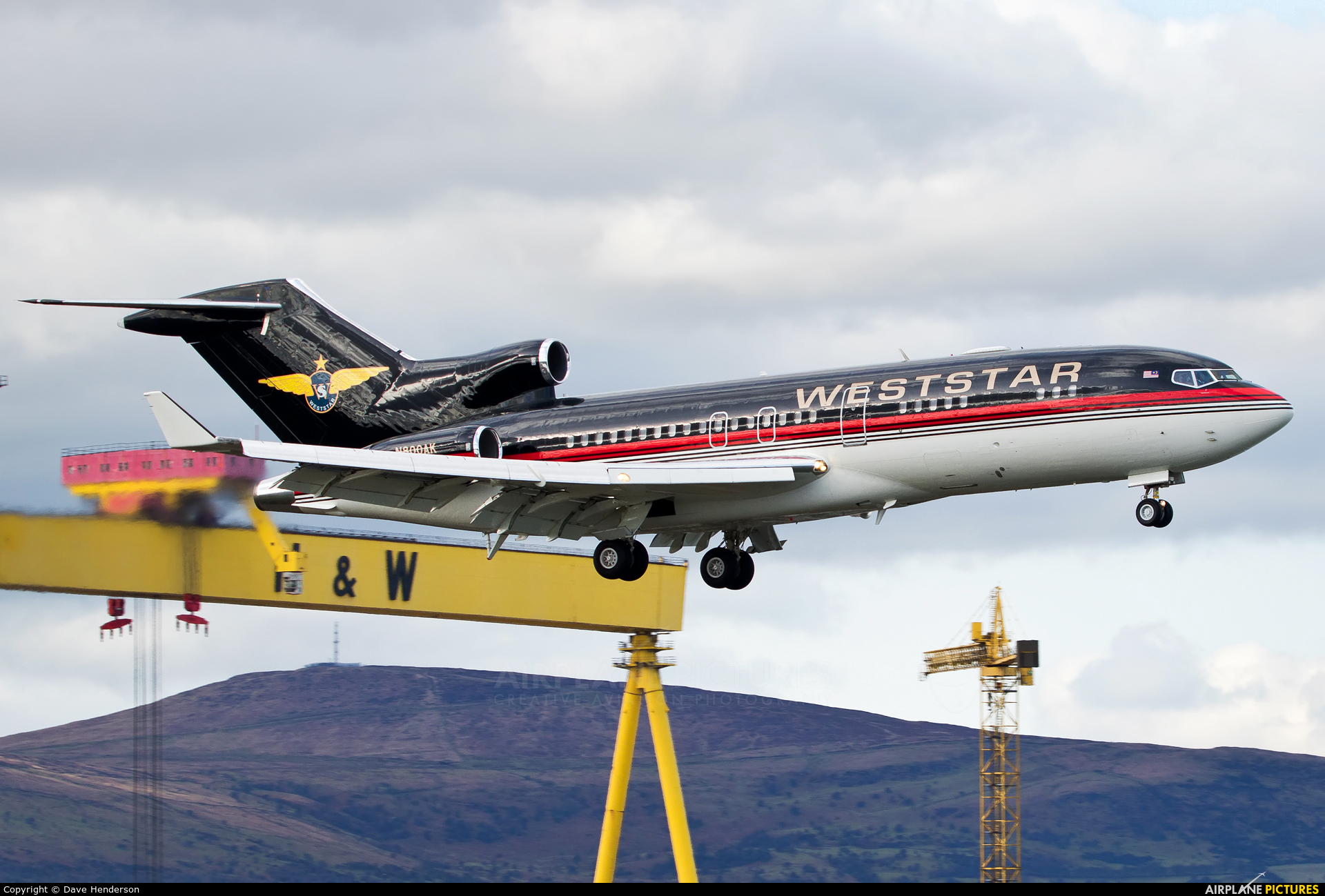 Weststar Aviation Services N800AK aircraft at Belfast City - George Best