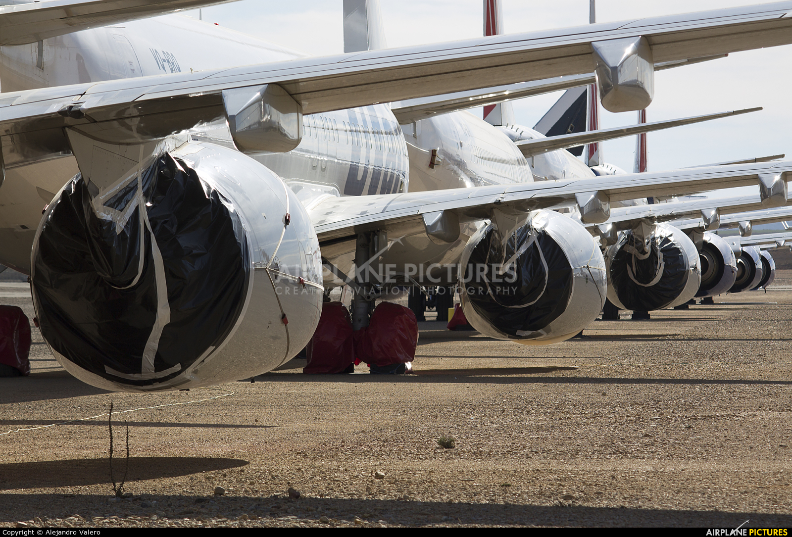 UTair VP-BUL aircraft at Teruel