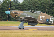 "PZ865 - Royal Air Force ""Battle of Britain Memorial Flight"" Hawker Hurricane Mk.IIc aircraft"