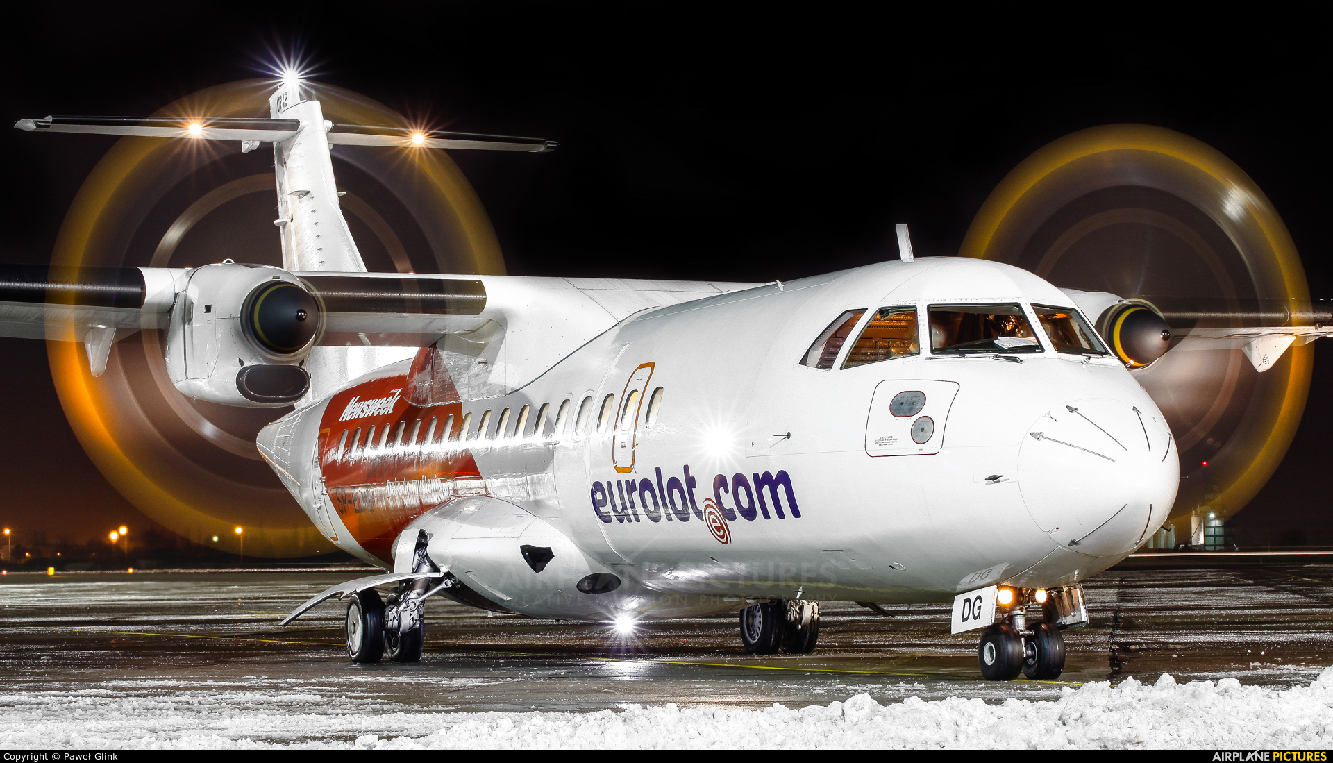 euroLOT SP-EDG aircraft at Gdańsk - Lech Wałęsa
