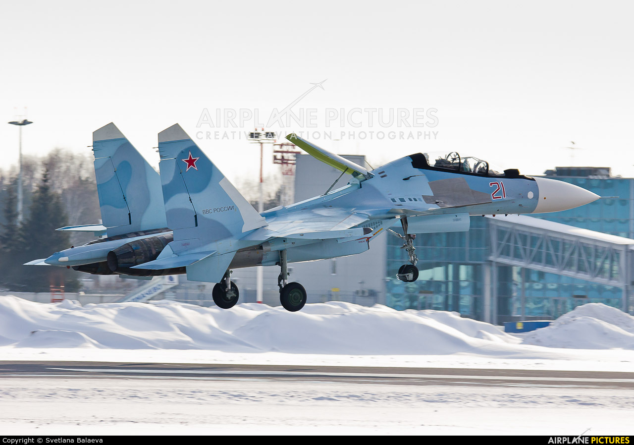 Russia - Air Force 21 aircraft at Novosibirsk