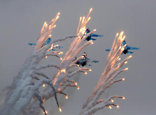 """06 - Russia - Air Force """"Falcons of Russia"""" Sukhoi Su-27"""