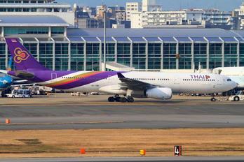 HS-TBD - Thai Airways Airbus A330-300