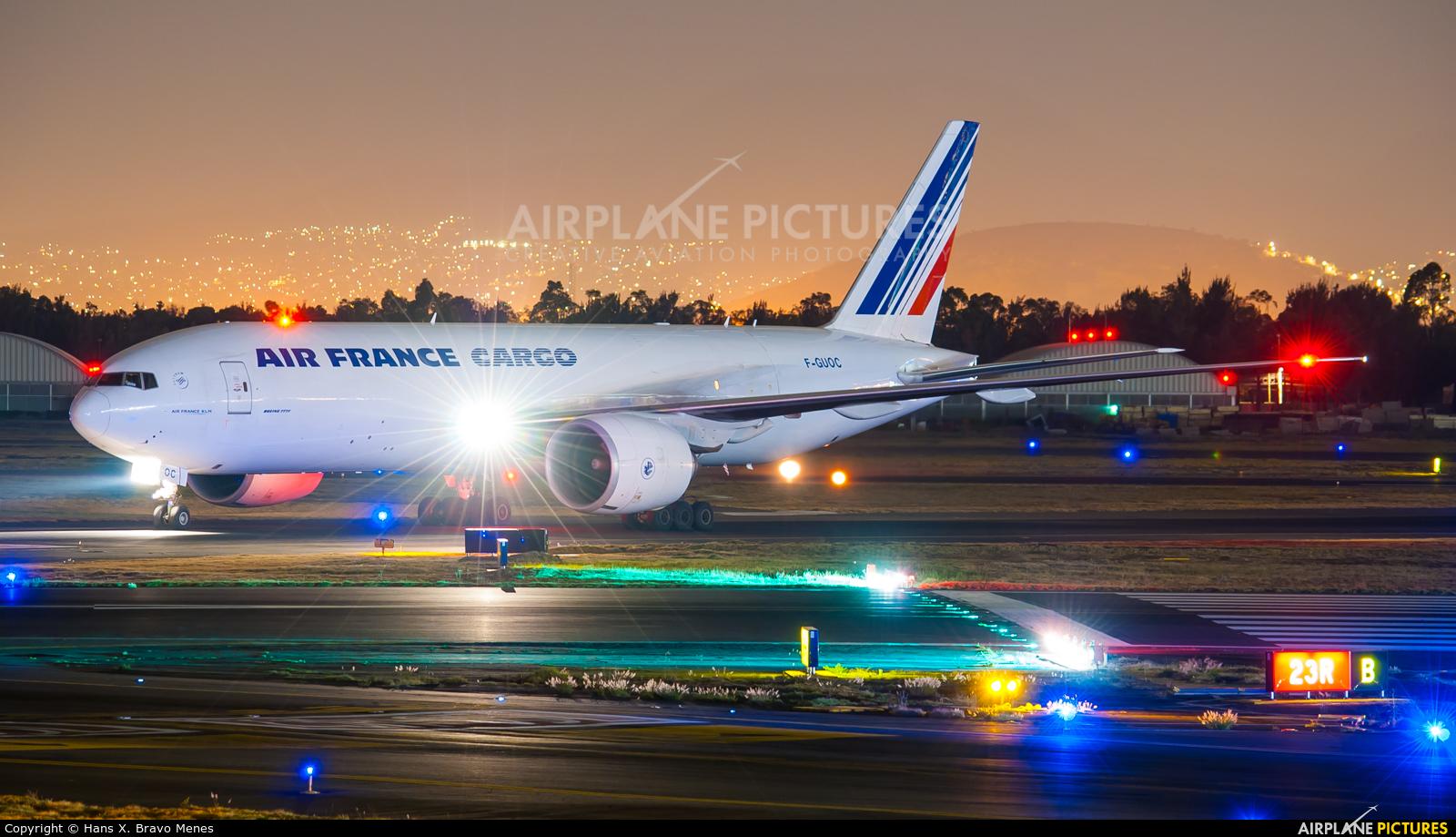 Air France Cargo F-GUOC aircraft at Mexico City - Licenciado Benito Juarez Intl