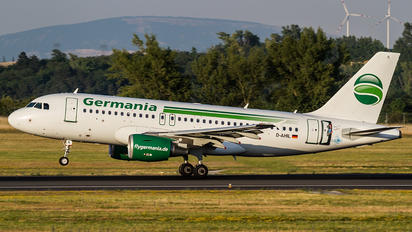 D-AHIL - Germania Airbus A319