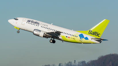 YL-BBN - Air Baltic Boeing 737-500