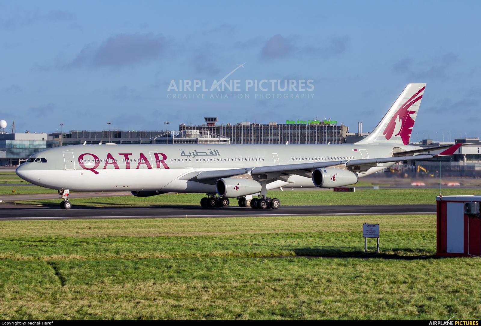 Qatar Amiri Flight A7-AAH aircraft at Dublin