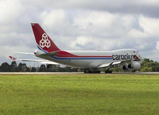 LX-WCV - Cargolux Boeing 747-400F, ERF