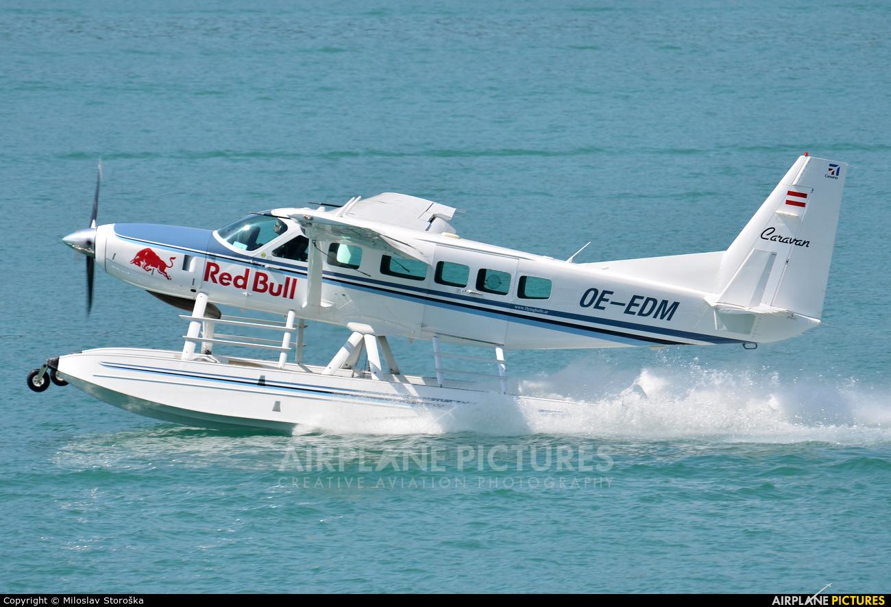 The Flying Bulls OE-EDM aircraft at Lake Wolfgang
