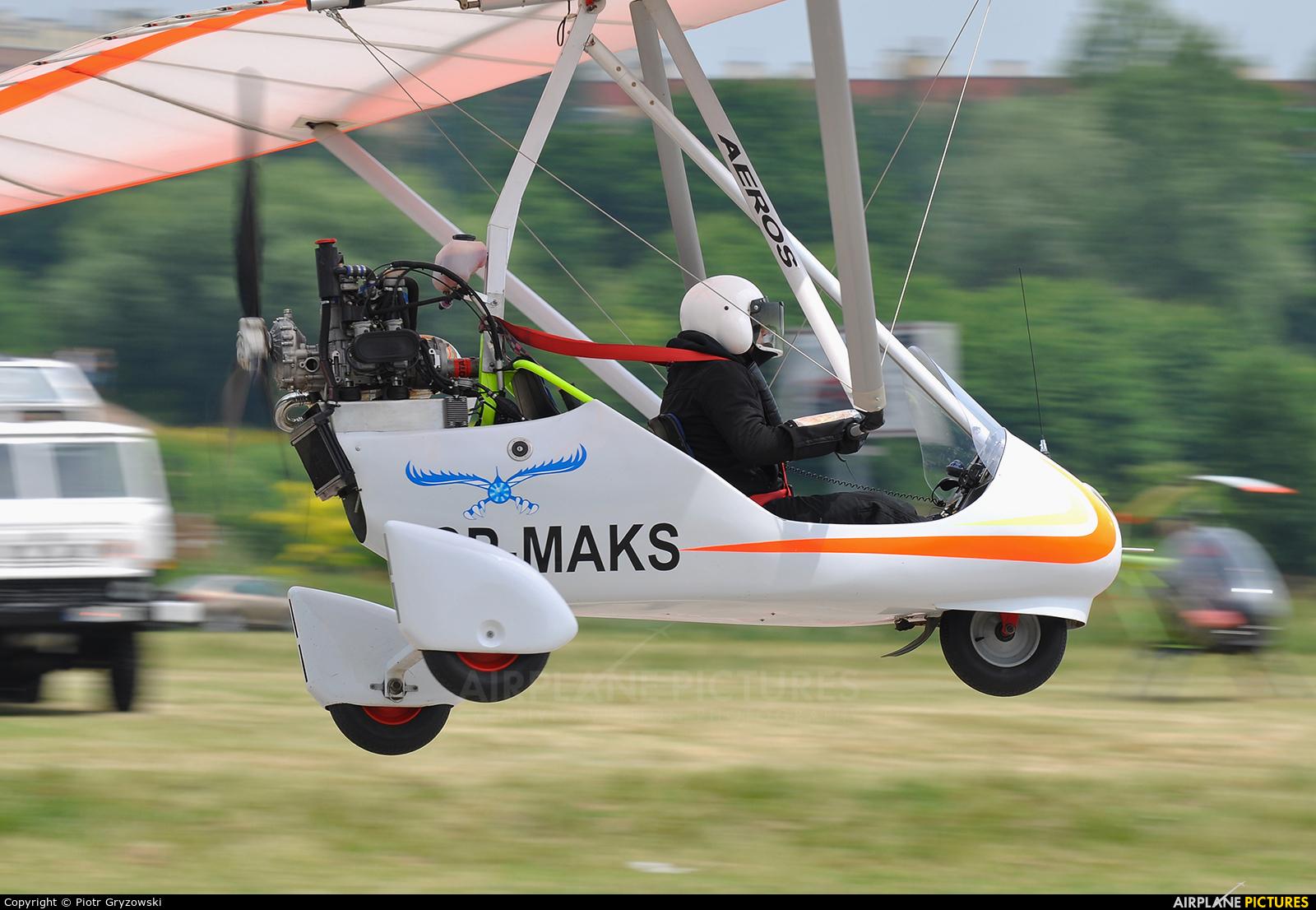 Private SP-MAKS aircraft at Kraków, Rakowice Czyżyny - Museum of Polish Aviation