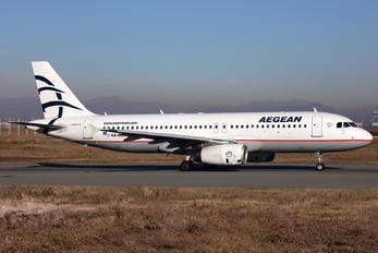 SX-DGJ - Aegean Airlines Airbus A320